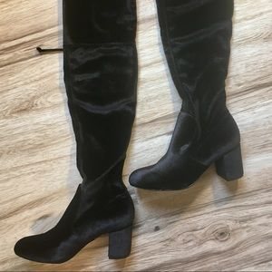 Charles over the knee Owen boots
